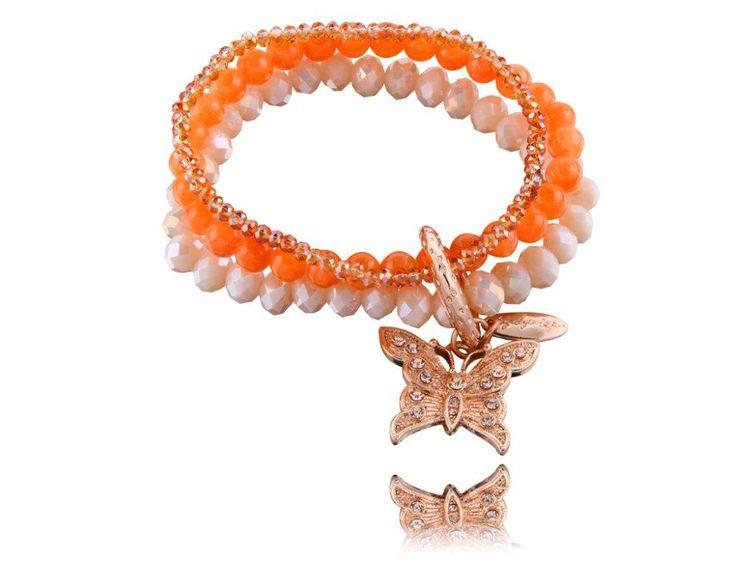 Romantyczna By Dziubeka :) #ByDziubeka #bracelet #bransoletka #jewelry #romantic #butterfly
