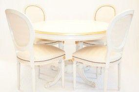 Chippendale Tisch mit Stühlen