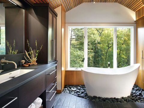 Bon A Mixture Of Smooth Textures And Muted Tones Make This A Soak Worthy  Spot.Browse Morespaces By Holly Rickert.See Otherrelaxing Bathrooms ., Bathroom By Holly ...