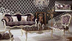 Andora Lüks Klasik Koltuk Takımı #Koltuk #Moda #Dekorasyon #Decoration #Home #SofaSet #LivingRoom #Mobilya #Furniture
