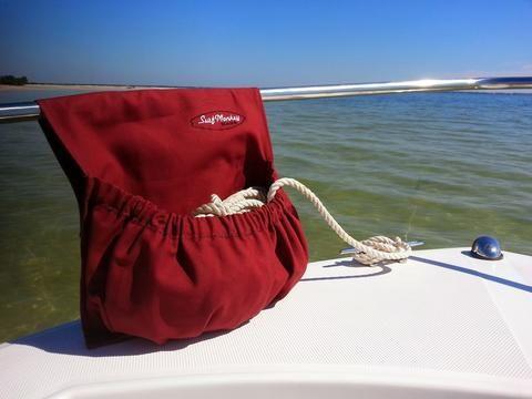 The Surfmonkey Marine Rope Utility Bag is definitely made to catch all those misc items left on the boat. From using it to organize your Anchor lines, to using it as a waste bin, it does it all. Desig