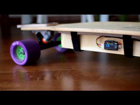 DIY Electric Longboard Part1 - YouTube
