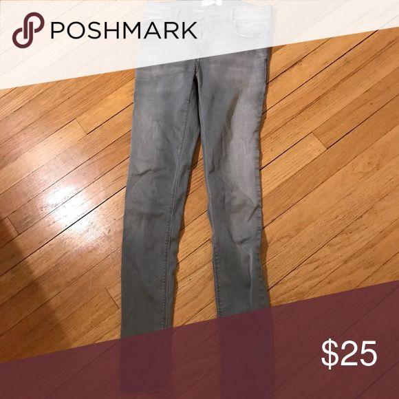 Grey Elektra jeans Grey Skinny jeans/jeggings in very good condition Mango Jeans Skinny