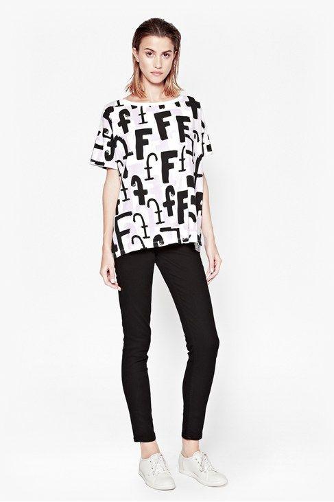 Triple Font F T-Shirt
