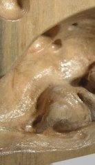 rzeźba drewniana rzeźba Kot na straży