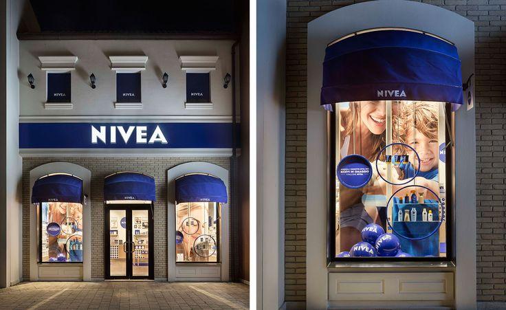Natural surfaces Matteo Thun designs a Nivea flagship
