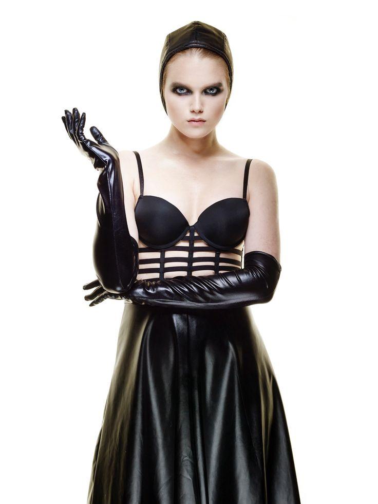 #latex #leather #longskirt #turban #corset #bustier #cyborggirl #future #glossysmokeyeyes #pilotcap #nudelipstick #flawlessskin #mattskin #noblush #paleskin #makeupartist #memoschmage  #reinhardscheuregger #gorgeous #model #berlin #blackandwhite #styling #dark #fashionista #makeup #urbandecay #kryolan #fashion #skinncosmetics #nudelipstick #giorgioarmani #lumonoussilk #toucheeclat #yslbeauty #mode