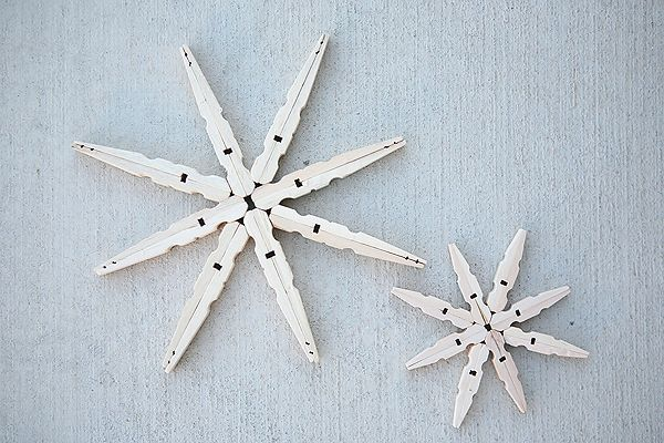 Yay! It's the 10th of the month and we have our friends back today sharing Snowflake projects! When we heard what the theme was going to be we knew we wanted to give these Clothespin Snowflakes that we saw on Under the Table and Dreaming a try. Love that something so pretty can be made out of clothespins. And …