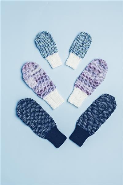 Tema 42: Modell 8 Print votter #strikk #knit  #sisu
