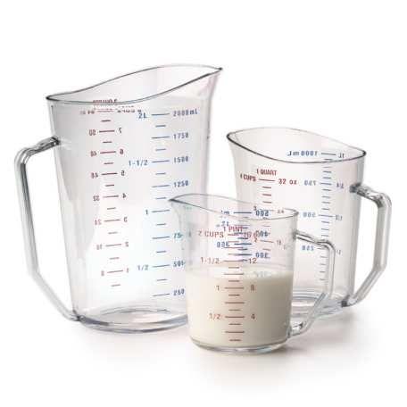 Acrylic Measuring Cup - 8 Cup