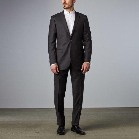 a97f88d6 Bella Vita // Slim Fit Suit // Charcoal   Fashion Summer   Fashion ...