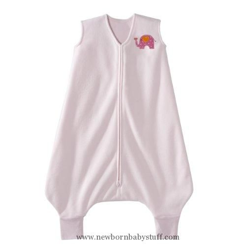 Baby Girl Clothes HALO Big Kids SleepSack Micro Fleece Wearable Blanket, Pink, 2-3T