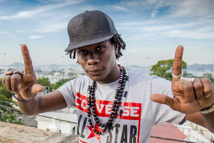 No próximo sábado, dia 30, o rapper haitiano Blaze One se apresenta na Arena Carioca Fernando Torres