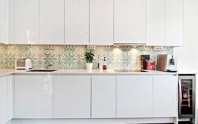 Decofilia blog revestimiento de frentes de cocina - Frentes de armarios de cocina ...