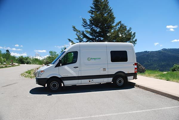Campervan North America rents Sprinter campervans and Edelweiss campervans (based on the Ford Transit Connect) from Las Vegas, NV and Victor, ID (just outside the Tetons). Want to rent a camper and travel to Yellowstone? These guys might be the ticket...they also sell some of their used campervans.