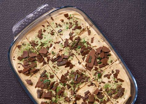 Enjoy this proudly South African recipe - delicious Peppermint Crisp Tart!