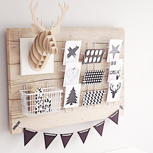 Een leuk en creatieve manier om onze Houten Rendier te gebruiken binnen een interieur! Niet alleen leuk voor de kerstdagen maar ook voor het hele jaar! (€5,95) #christmas #kerst #woonaccessoires