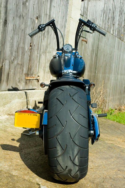Modified Harley Davidson Rocker C, Custom Fender, MARKS ROCKER | Rocket Bobs