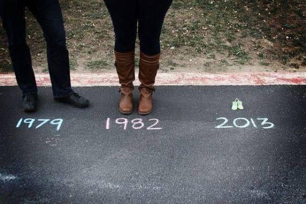 1979 1982 ... #zwangerschap #baby #aankondiging