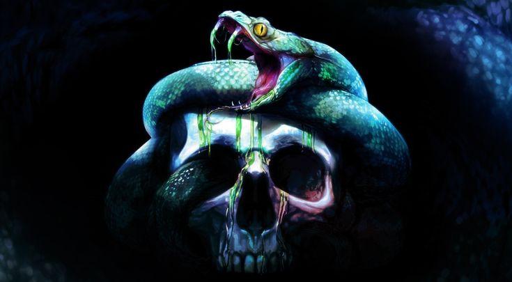 skull, #artwork, #Neverwinter Nights, #Neverwinter Nights 2: Storm ...