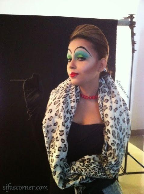 The making of Cruella DeVille!