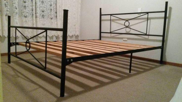 Queen Size Metal Bed Frame | Beds | Gumtree Australia Eastern Suburbs - Randwick | 1165626761