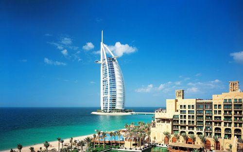 Burj al Arab, Dubai, United Arab Emirates.