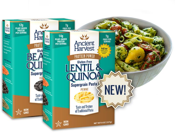 Ancient Harvest is a national supplier of quinoa & gluten-free grain products. Our wheat-free, organic quinoa, millet & amaranth products are non-GMO, plant-based proteins with unrivaled taste and texture.