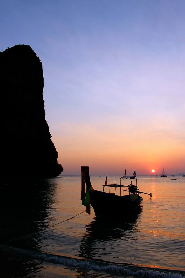 Sunset at Railay Beach, Thailand, by Tess LangmaidSunsets Photos, Photos Challenges
