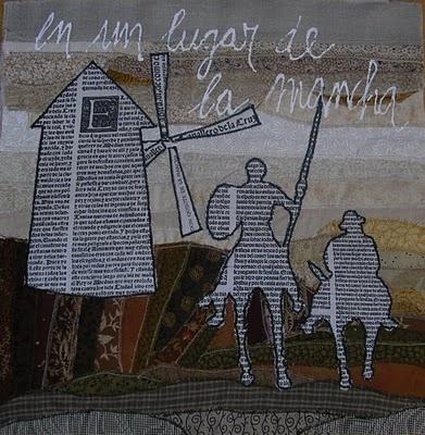 Bloque de Carme Torras basado en el Quijote.