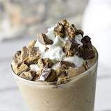 Easy Keto Fat Bomb Reese's Cup Milkshake