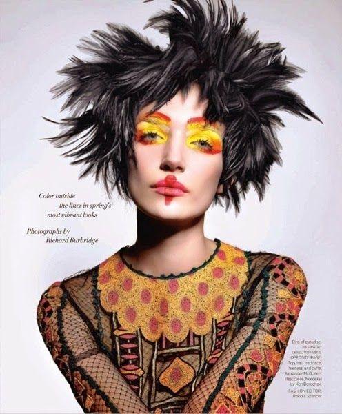 Harper's Bazaar US March 2014, Janice Alida