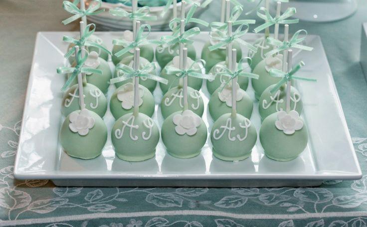 Cupcake: Passarinho branco