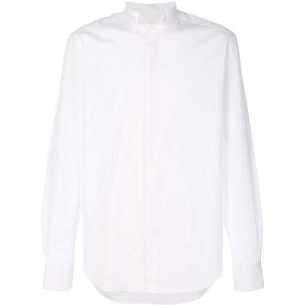 Lanvin Classic Tuxedo Shirt ($473) ❤ liked on Polyvore featuring men's fashion, men's clothing, men's shirts, mens cotton shirts, mens long sleeve shirts, mens formal shirts, mens tuxedo shirt and mens tux shirt