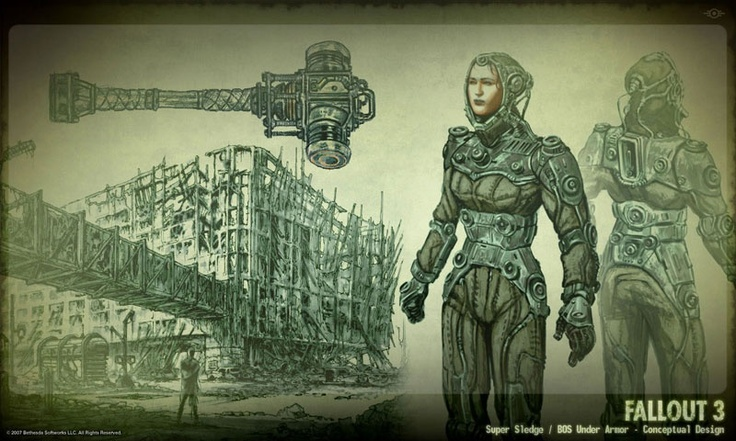 Awesome Robo!: Farewell Adam Adamowicz : The Visual Mind Behind Fallout 3