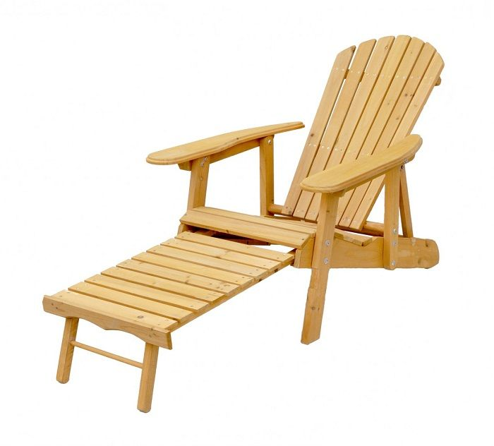 Beautiful Solid Hardwood Reclining Folding Adirondack Chair With Ottoman ~ http://lanewstalk.com/the-rustic-adirondack-chair/