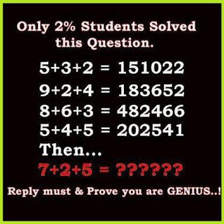 one of the hard tough only for genius excellent math puzzles problems with answer & solution Pics Hard Math Riddles with answer & solution Pics
