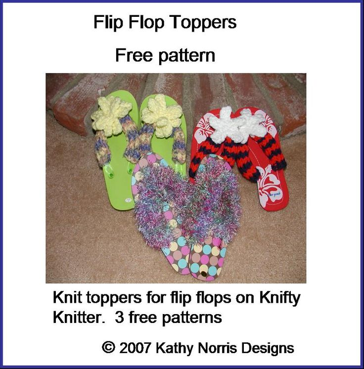 Knitting Pattern For Flop : 17 Best images about Free Loom Knit Patterns & Instruction on Pinterest ...