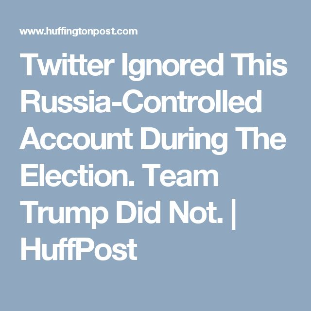 Two weeks ago, a Russian news outlet revealed that @TEN_GOP was part of the Internet Research Agency, a troll farm in St. Petersburg that runs online influence operations for the Russian government. The Daily Beast later confirmed the connection. @TEN_GOP operated from Nov. 19, 2015, to Aug. 23 of this year, when Twitter finally shut it down, having ignored multiple previous requests from the actual Tennessee Republican Party to suspend the account.
