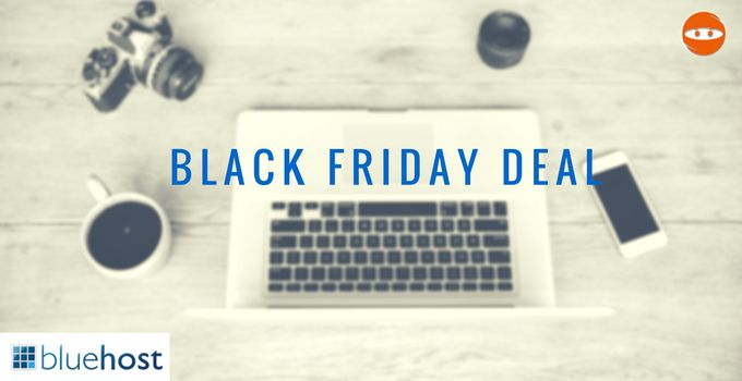 Get exclusive Bluehost Black Friday 2016 deal. Bluehost is offering mega discount on BlackFriday & CyberMonday. Avail this offer right now!