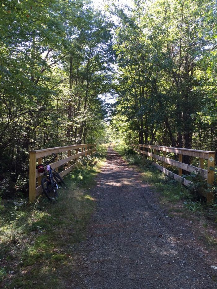 The Northern Rail Trail...This rail trail deserves a special mention because it stretches for an amazing 23 miles of natural wonder.