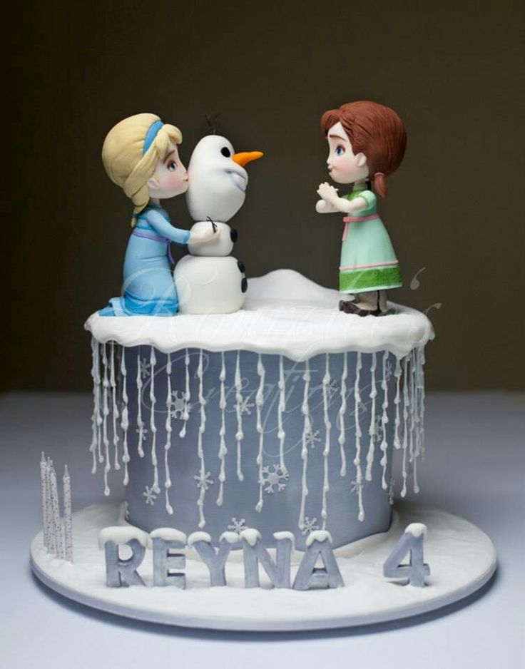 157 best images about Cakes - Frozen Birthday on Pinterest ...