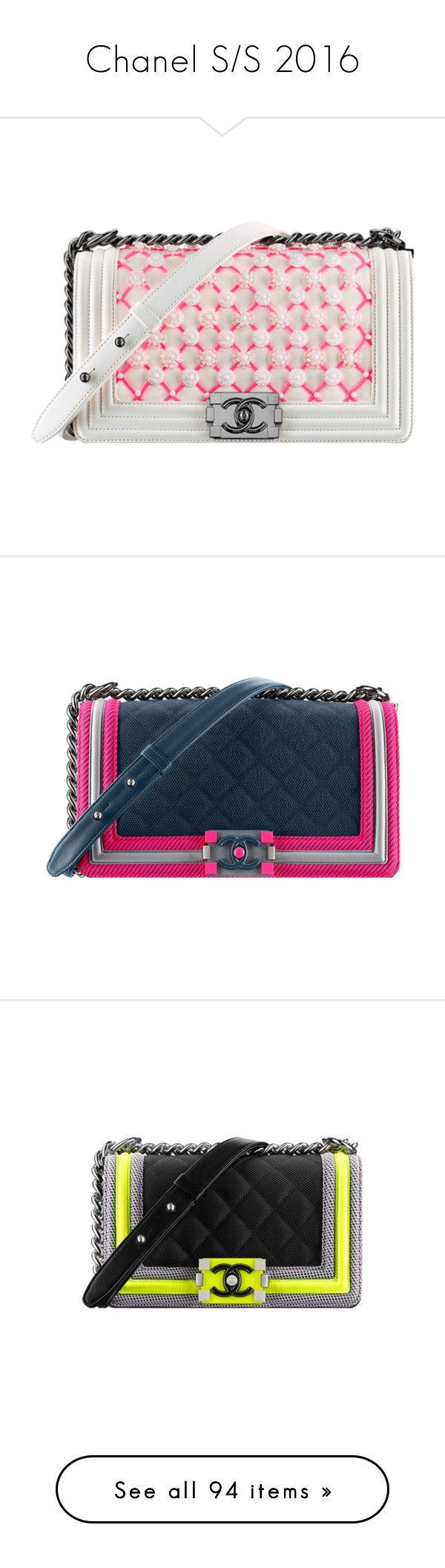 """Chanel S/S 2016"" by mariotsala22 ❤ liked on Polyvore featuring chanel, bags, handbags, bolsa, shopper handbags, chanel bags, shopping tote bags, chanel handbags, flap bag and handbags purses"