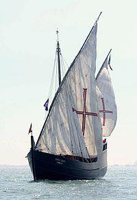 Marinha Portuguesa  Replica de uma Caravela Portuguesa do século XV.