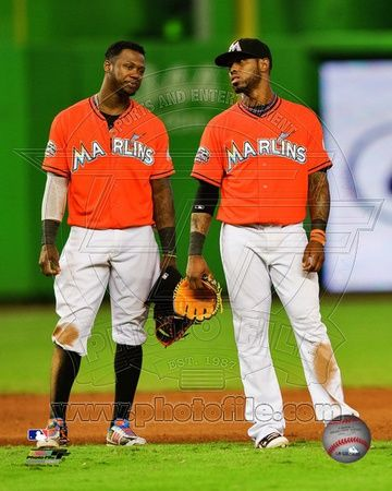 Miami Marlins - Jose Reyes, Hanley Ramirez Photo