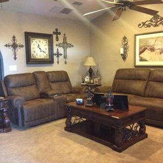 Austere Power Reclining Sofa | Ashley Furniture HomeStore