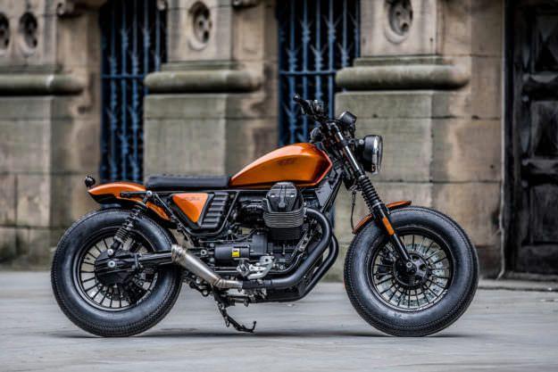 Moto Guzzi V9 by Moto Strada