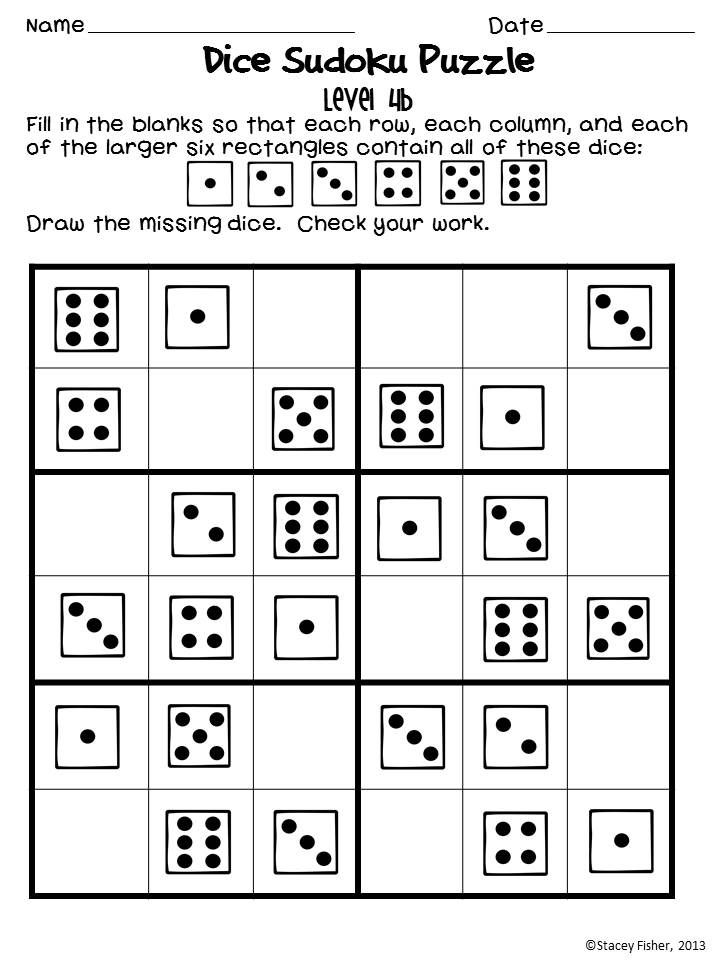 Sudoku Puzzles for Young Children-Differentiated Puzzles ...