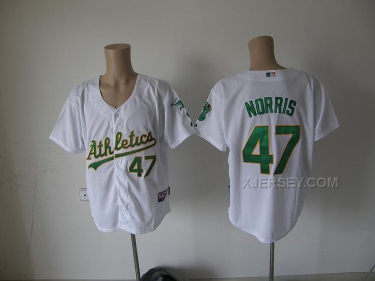http://www.xjersey.com/oakland-athletics-47-norris-white-jerseys.html OAKLAND ATHLETICS 47 NORRIS WHITE JERSEYS Only $34.00 , Free Shipping!