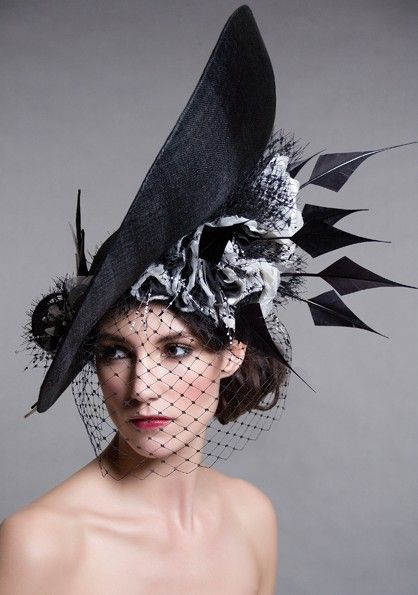Edwina Ibbotson Millinery   Glorious goodwood Racing fashion Goodwood Hats www.furlongfahion.com